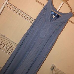 Blue grey dress